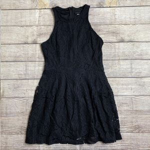 Mossimo Lace High Neck Dress